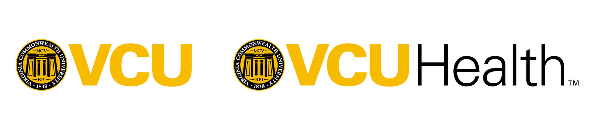 VCU and VCU Health logos
